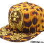 "LEOPARD ""ONE"" SNAP BACK CAP"