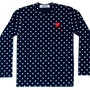 Polka Dot T-Shirt (Navy/White)