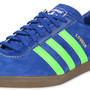Adidas London shoes blue green