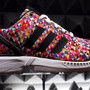 ZX FLUX   Multicolor Prisms
