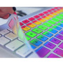 rainbow Mac keyboard