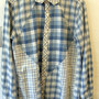 TOP CHECK GEOMETRIC SHIRT