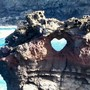 Ocean Arch Heart in Maui, Hawaii