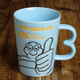 Good Sign Mug Cup blue