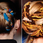 twist hair by THAKOON FW 2011