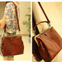 Vintage Hollow Out Shoulder Satchel Tote Bag Handbag