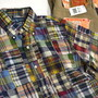 S/S Patchwork Check B.D. Shirt