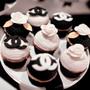 Custom Chanel Themed Cupcakes