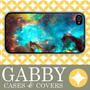iPhone 5 Case, iPhone 4 Case, Samsung Case, Nebula Aqua