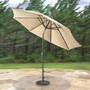 Wind Adapting Market Umbrella