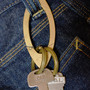 カラビナ brass carabiner key holder