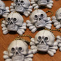 totenkopf keychain