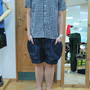 BIG POCKET SHORTS by GEAR HOLIC Ver2 denim