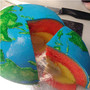 Earth Structural Layer Cake with Inner Core, Outer Core, Mantle, and Crust