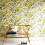 yellow, flowers, wallpaper