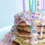 Birthday Sprinkle Pancakes