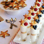 Stars &amp; Stripes Cheesecake Shots