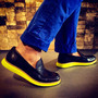Lunargrand Penny Loafer - Yellow Lunar Sole