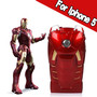 Iron Man Movie Mark VII I phone 5 Protective Case with LED Light