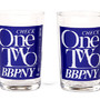 Check One Two Glass Set
