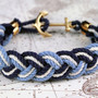 Turk's Head Knot Rope Bracelets / Obedaggett Docks