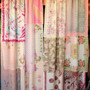 La Vie En Rose - Handmade Gypsy Curtains