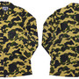 A BATHING APE(エイプ) 1ST CAMO PERTEX NYLON RAIN COAT [ジャケット] 【新品】YELLOW CAMO