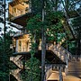 sustainable tree house for boy scouts
