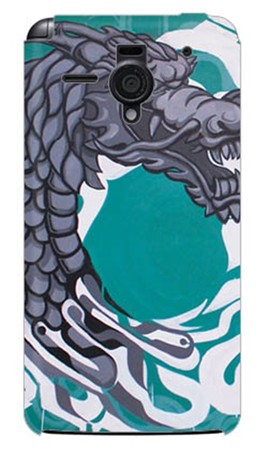 輪派絵師団 「DRAGON」 / for AQUOS PHONE Xx 206SH/SoftBank