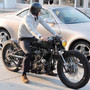 David Beckhams Garage Company Custom Bike David Beckhams Garage Company Custom Bike    Great Unfinished Look