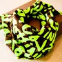 Stephen Sprouse Graffiti Scarf
