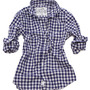 Barry Classic Shirt (Navy Large Gingham)