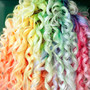 Pastel Rainbow Hair