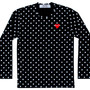 Play Polka Dot T-Shirt (Black/White)