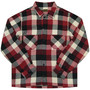 T-HEAVY FLANNEL SHIRT (Red)