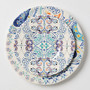 Swirled Symmetry Dinner Plate