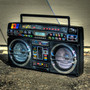 i-931BT (i931BTQ) Bluetooth Ghetto Blaster Black Boombox - MP3 iPod iPhone Android