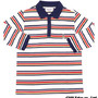 BORDER POLO SHIRT