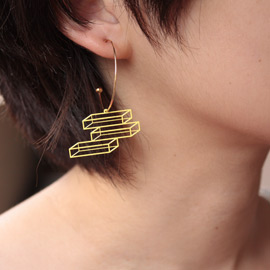 lilldesignlab Space Figure Hoop Pierce
