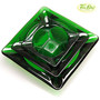 Forest Green Ashtray Set