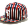 new era 59FIFTY stripe NY Yanks