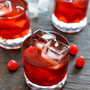 Cherry Whiskey Smash