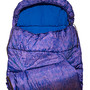 Paisley Print Sleeping Bag (Purple)