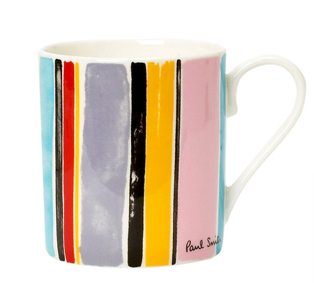 Paint Effect Multi Stripe Mug