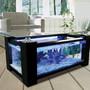 ikea coffee table black glass