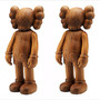 OriginalFake-KAWS-Karimoku-Wood-Companion-Figure