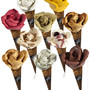 flower shaped ice cream cone amorino gelato