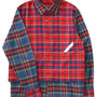 Layered Shirt (red check)