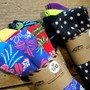 Broloha Crew Socks&amp;Polka Crew Socks/3-Pack