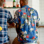 Popover Shirt-Printed-Hawaiian